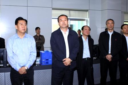 国家电网公司副总经理郑宝森视察西藏电力有限公司 -国家电网